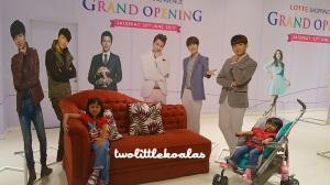 Lotte Shopping Avenue Lobby, bergaya dengan kakak Korea